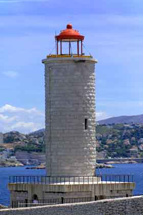Stone Lighthouse near Marseille